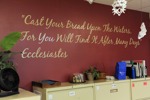 Bread of Healing At Cross Lutheran