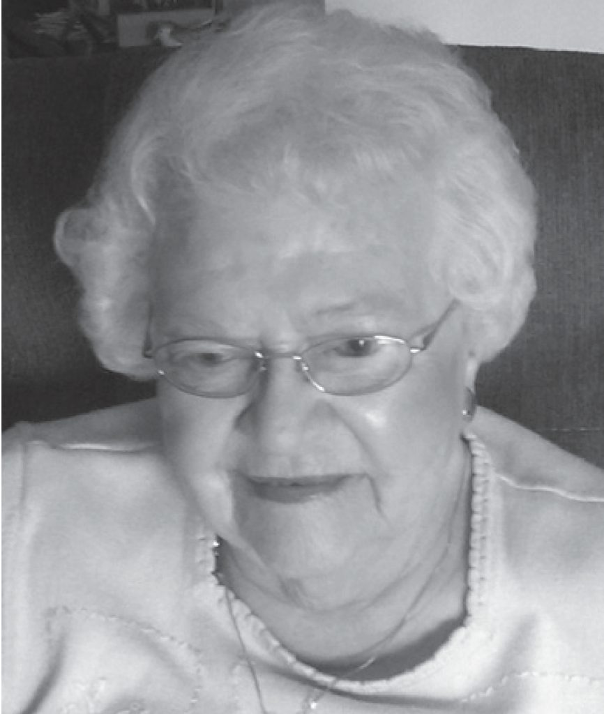 Betty Marx, who, until her death in a few years ago, was the longest living member at Cross.